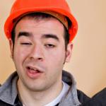 Construction Worker Triplets